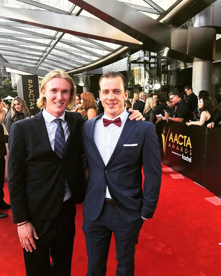 Me and Donnie at the AACTA Awards